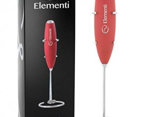 Elementi milk frother with stand Review